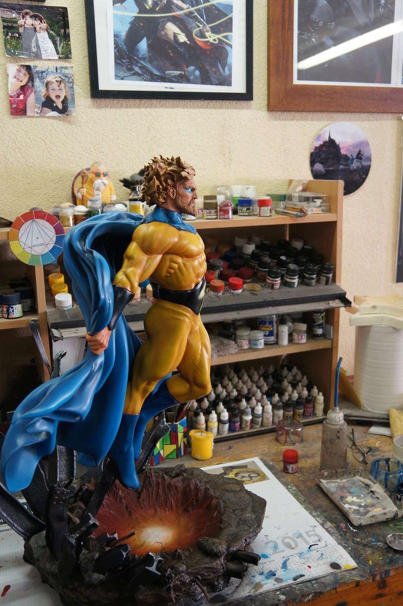 Sentry 1/4 scale sculpt Baniel Bel production bushi collector Dsc09911