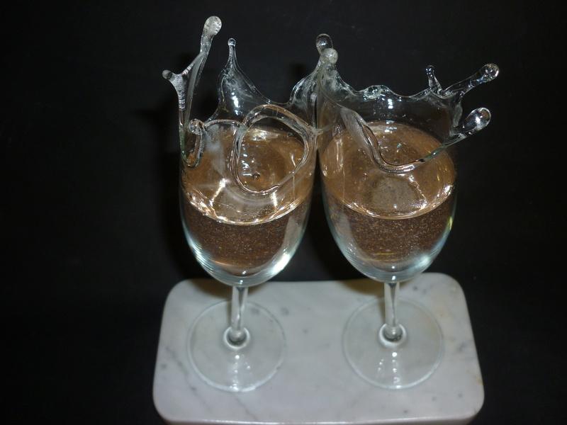 35 bulles qui pétillent  (Verre / Résine)  Pat5 P1020714