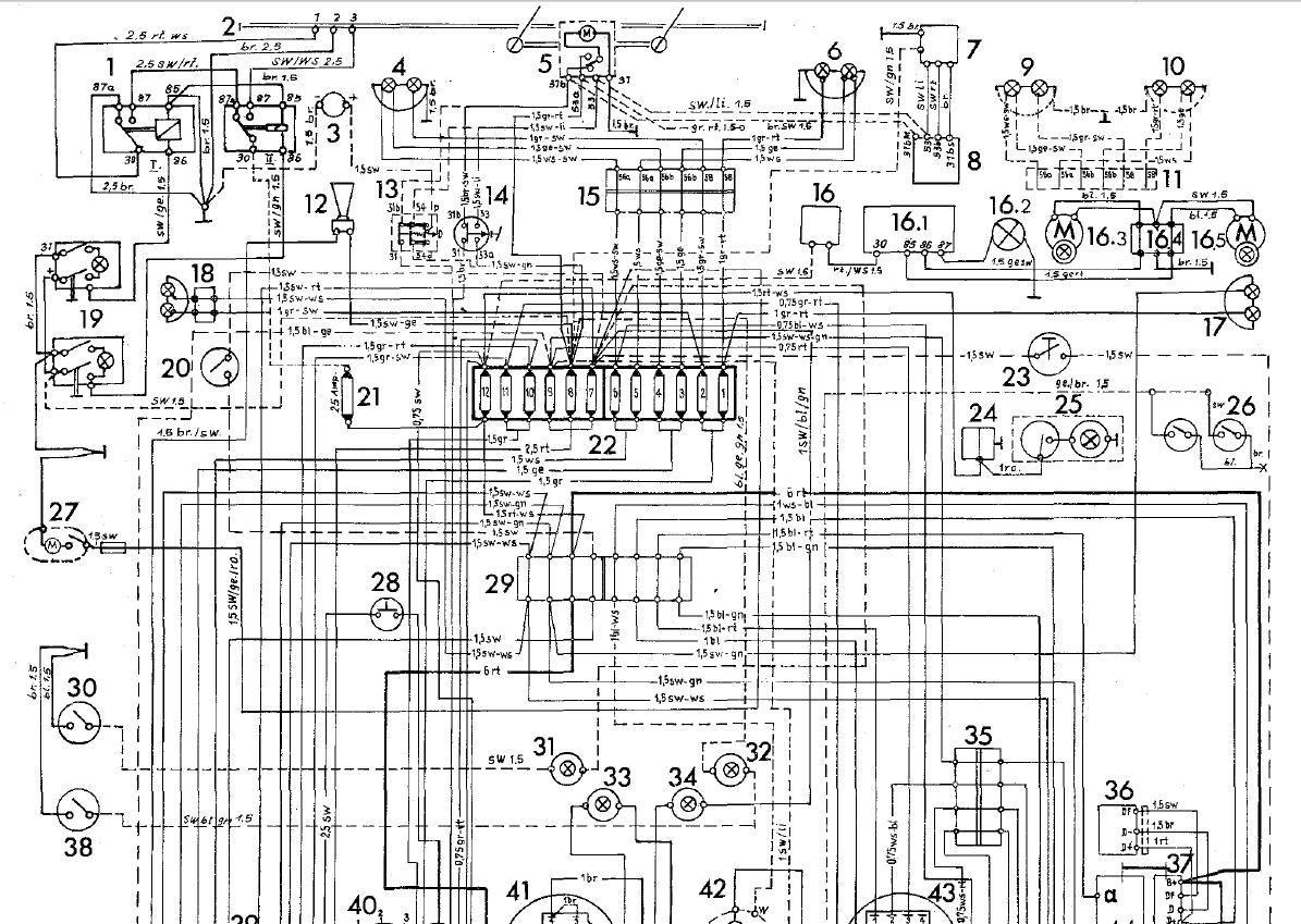 connection electrique des feux de signalisation Fusibl14