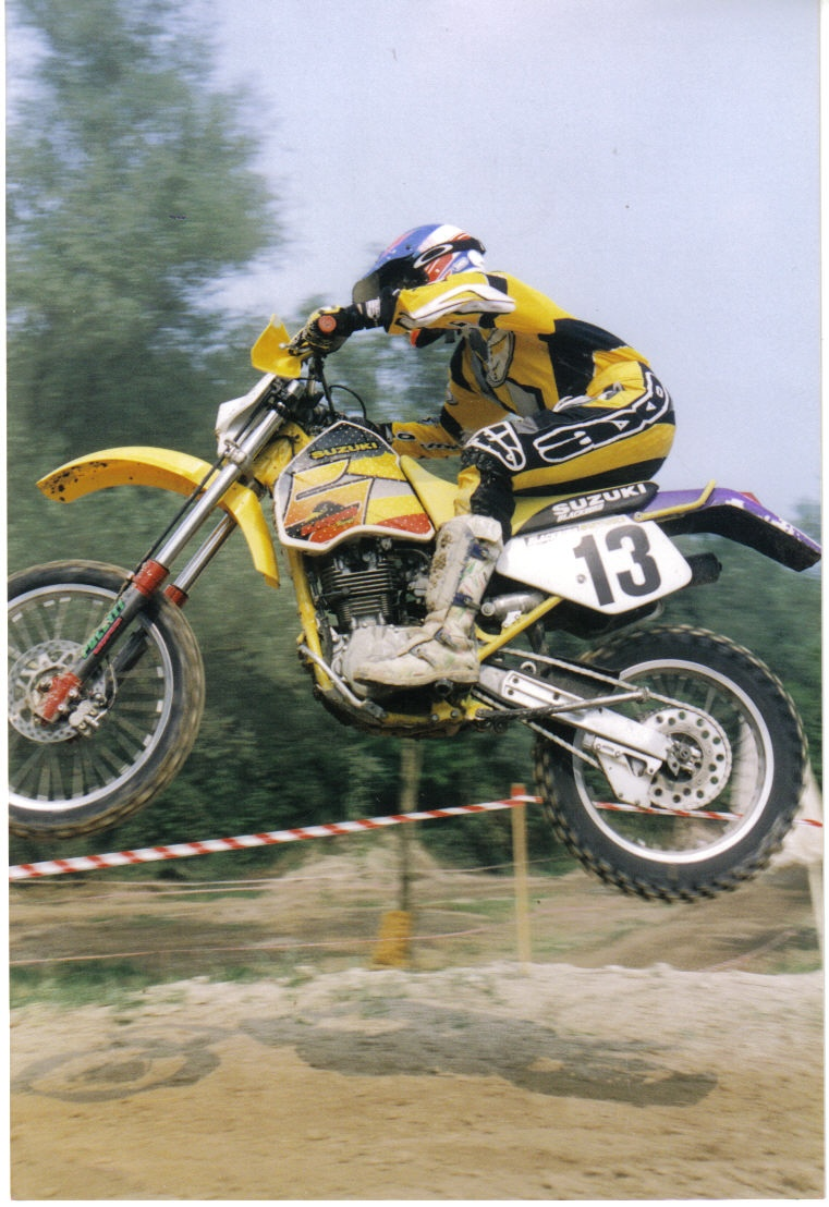 La moto più bella del mondo SUZUKI DR 350 R Gialla Dr_35015