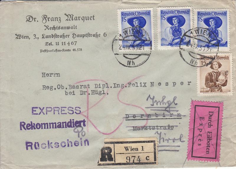 Trachtenserien ANK 887 - 923 und 1052 - 1072 Belege - Seite 10 Img49
