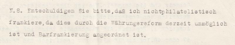 Österreich 2. Währungsreform 10.12.1947 - Belege Img67