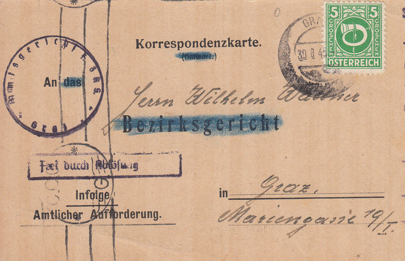Posthornzeichnung  -  ANK 697-713  -  Belege - Seite 3 Img_0046