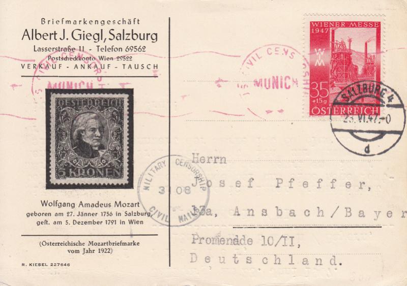 Sammlung Bedarfsbriefe Österreich ab 1945 - Seite 9 Img_0076