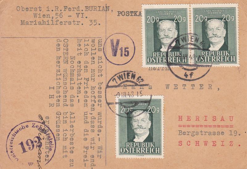 Sammlung Bedarfsbriefe Österreich ab 1945 - Seite 9 Img_0078