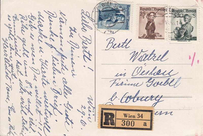 Sammlung Bedarfsbriefe Österreich ab 1945 - Seite 9 Img_0109