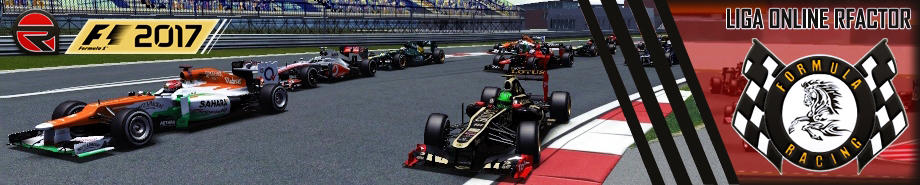 Liga Online rFactor Formula Racing