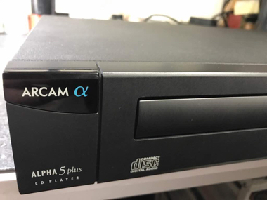 Arcam Alpha 5 Plus CD player (Used) Img_1610