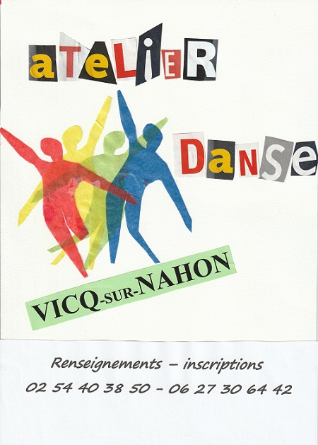 VICQ/NAHON - Inscription atelier de danse contemporaine */ 001147