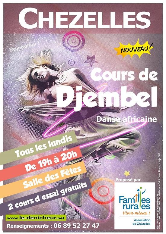 v30 - LUN 30 octobre - CHEZELLES - Cours de Djembel (danse africaine) 00233