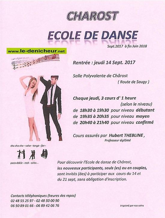 JEU 14 septembre 2017 - CHAROST - Rentrée de l'Ecole de danse _* 09-1410