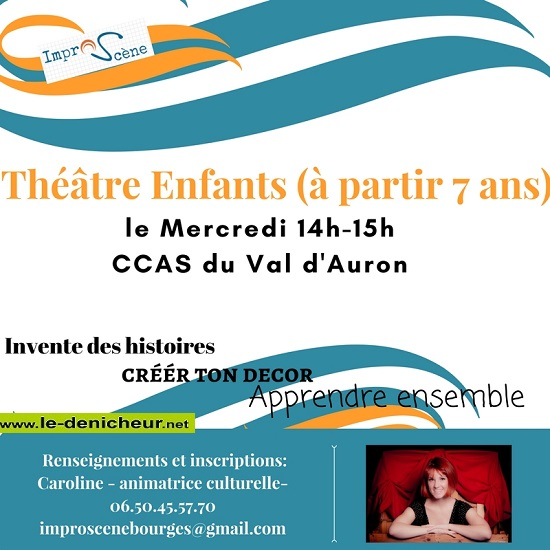 BOURGES - Tous les mercredis - Théâtre enfants 10-1110