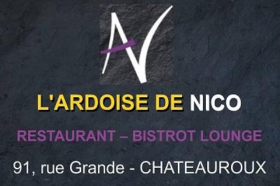 CHATEAUROUX - L'ARDOISE DE NICO - Restaurant - Bistrot lounge Nico_t11