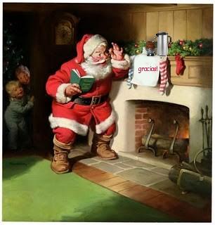 ¡FELICES  FIESTAS!   Christmas Greetings! Santa_10