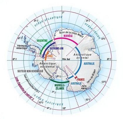 Une gigantesque crevasse en Antarctique accélère la fonte de la calotte polaire Antarc10