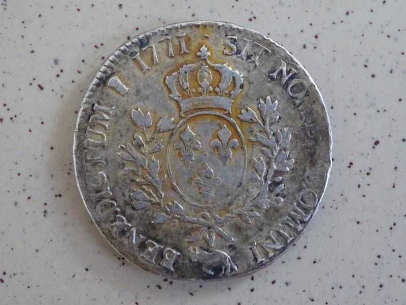 Monnaie argent Louis XV  Monnai11