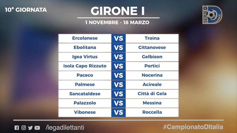 Calendario Serie D girone I stagione 2017/2018 1010