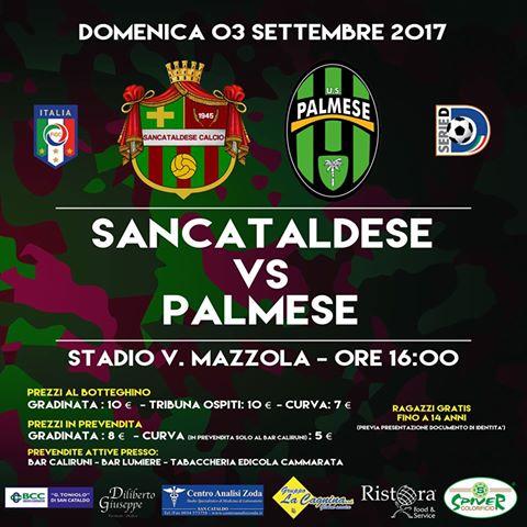Campionato 1°giornata: SANCATALDESE - Palmese 1-2 21151110