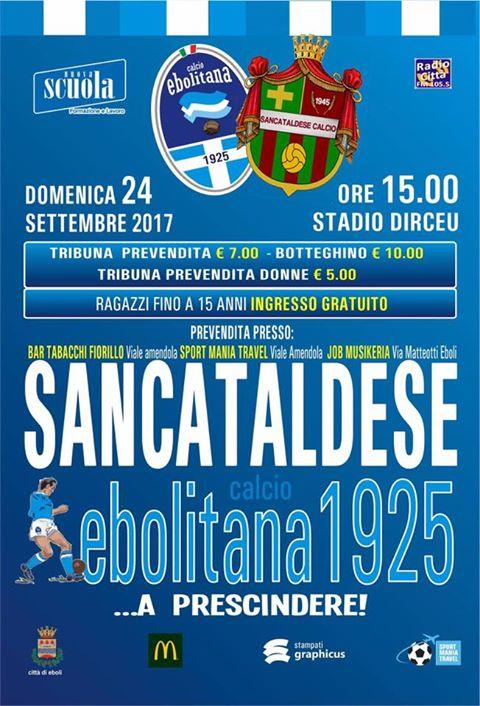 Campionato 4°giornata: Ebolitana - SANCATALDESE 1-1   21463310