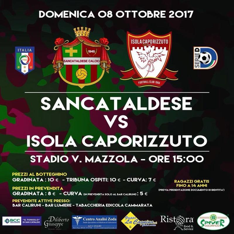 Campionato 6°giornata: SANCATALDESE - Isola Capo Rizzuto 4-0 22141210