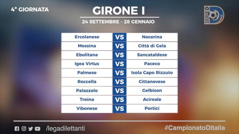 Calendario Serie D girone I stagione 2017/2018 410