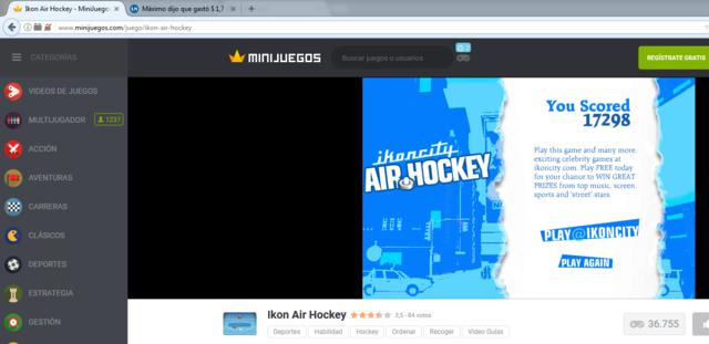 Competencia de Hockey 320