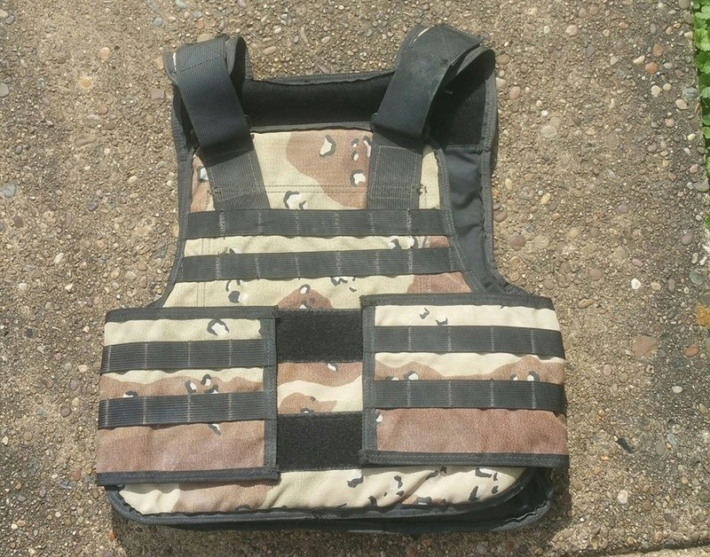 A possible source of Iraqi body armor 20289910