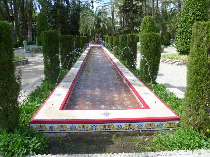 (Espagne) Parc municipal d'Elche - Province d'Alicante 1-p10106