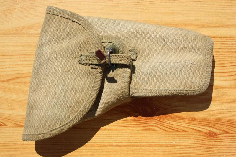 Pistolet  Browning GP No1 MK I* de fabrication canadienne et la crosse en bois Img_4446
