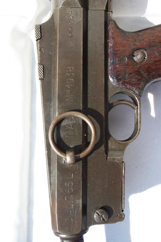 Pistolet Mitrailleur MAS modèle 1938 Img_4711