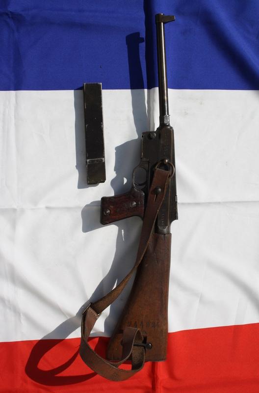 Pistolet Mitrailleur MAS modèle 1938 Img_4712