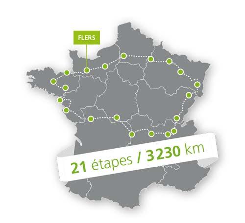 17ème Tour Cyclotouriste 2018 Maptc210