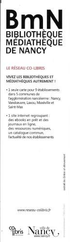 Médiathèques et bibliothèques de Nancy 8896_110