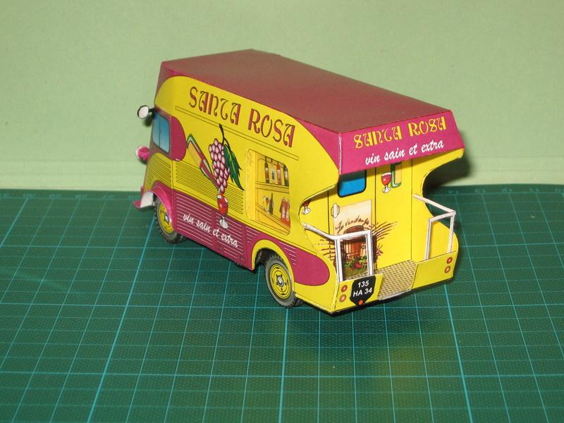 Projet : miniature de la Rosalie 15CV de Jean Daninos au 1/43 15_08_10