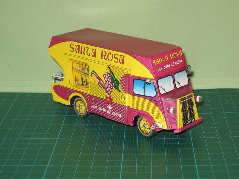 Projet : miniature de la Rosalie 15CV de Jean Daninos au 1/43 15_08_11