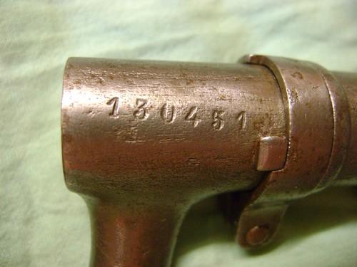 Baïonnette suisse 1863. Dsc02127