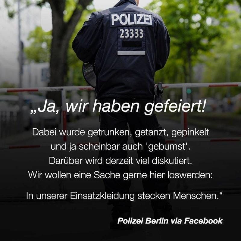 Berliner Polizisten aus Hamburg abgezogen  Polize10