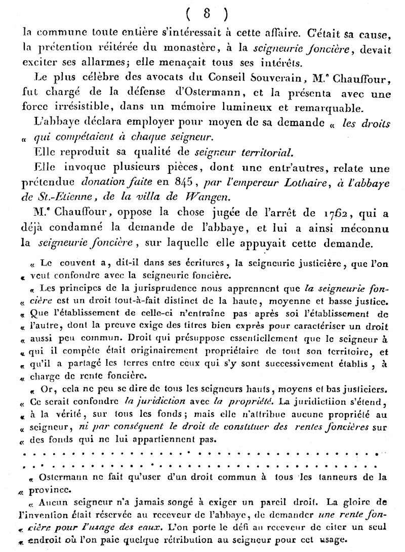 Mémoire d'un procès qui fit couler beaucoup de vin...à Wangen Numari13