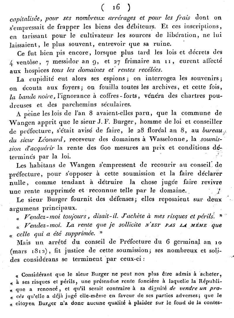 Mémoire d'un procès qui fit couler beaucoup de vin...à Wangen Numari22