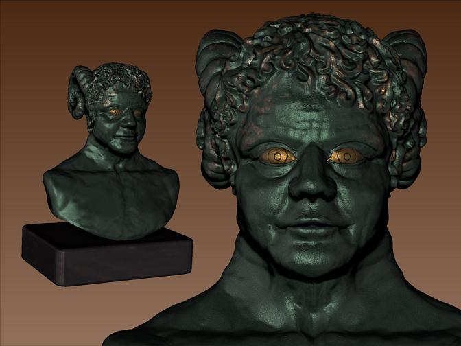 Modelage virtuel Ammon_10