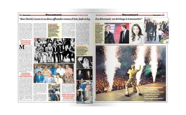 Exclusif - Le journaliste vedette PPDA raconte Johnny Hallyday 2010-017
