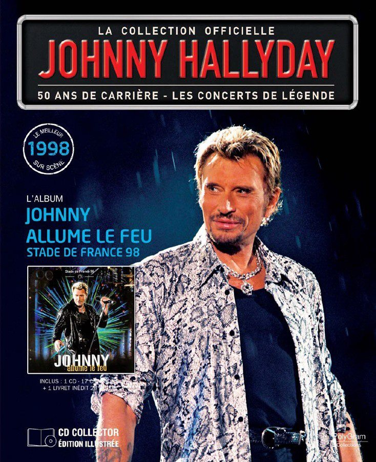 "n° 52  ""Johnny allume le feu"" Stade de France 98 67932_10"
