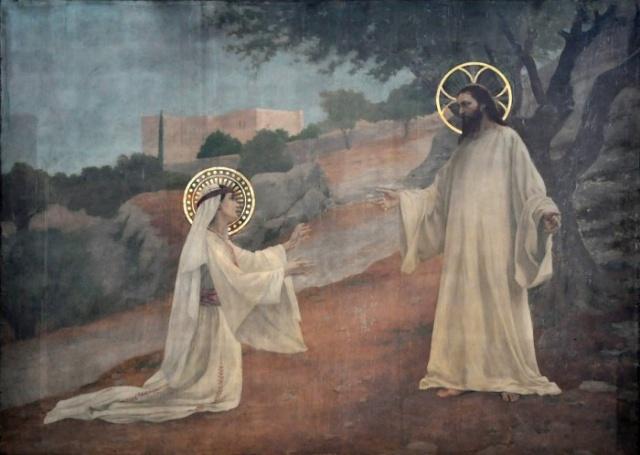 Vingt-deux toiles sur la vie de Marie, par l'artiste Joseph Aubert (1849-1924). 19_par10