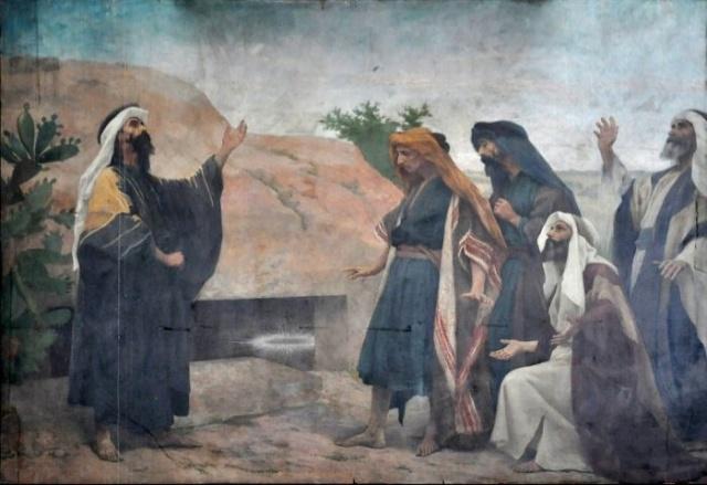 Vingt-deux toiles sur la vie de Marie, par l'artiste Joseph Aubert (1849-1924). 22_par10