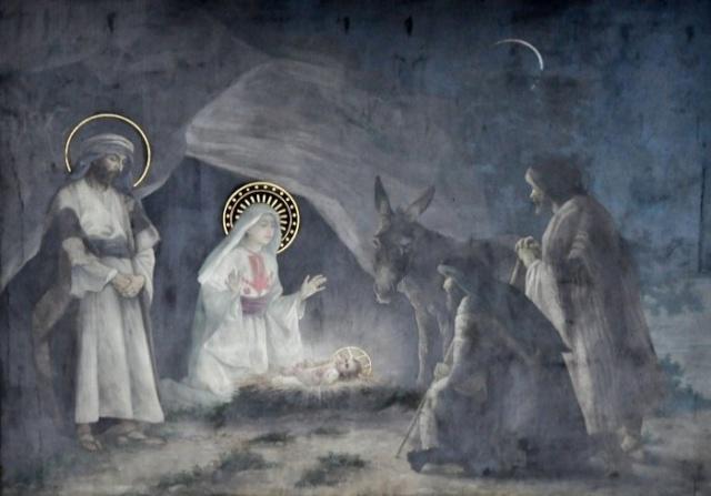 Vingt-deux toiles sur la vie de Marie, par l'artiste Joseph Aubert (1849-1924). 8_parn10