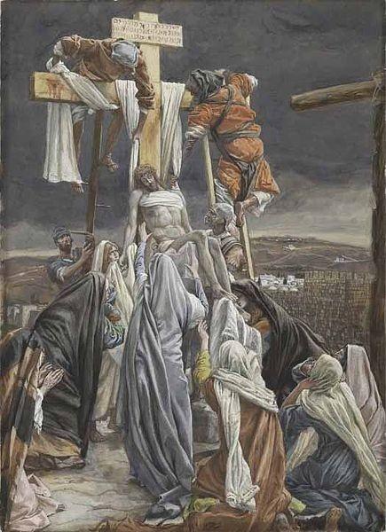 La Passion du Christ selon le peintre Tissot. Bc837510