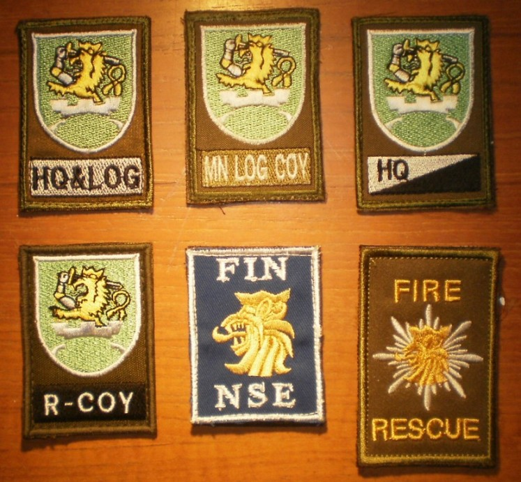 KFOR patches Finlan11