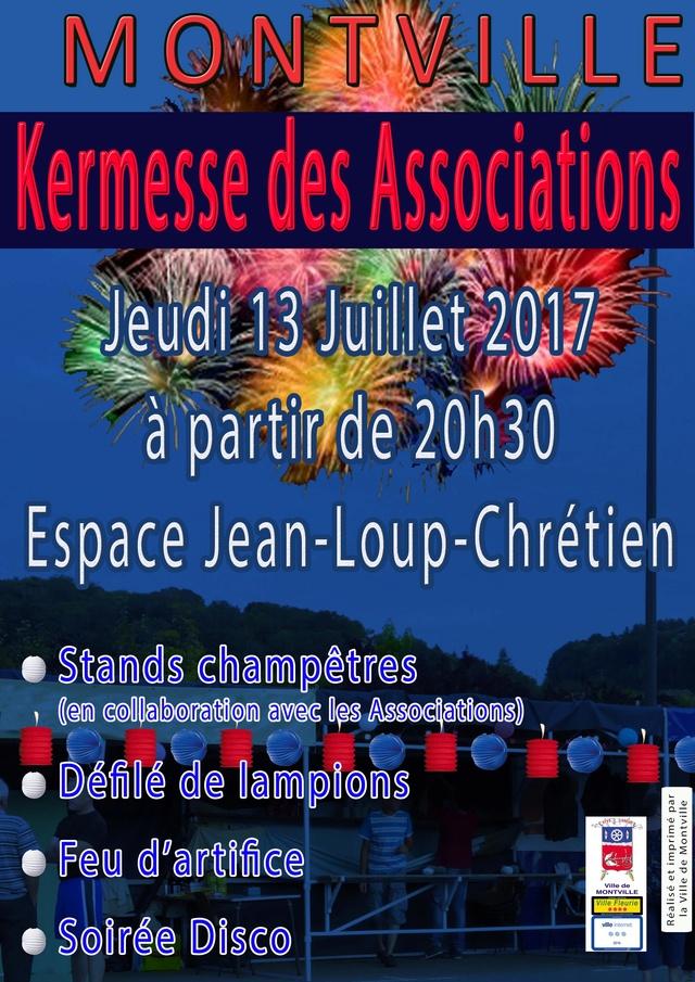[2017] Kermesse des associations de Montville Affich10