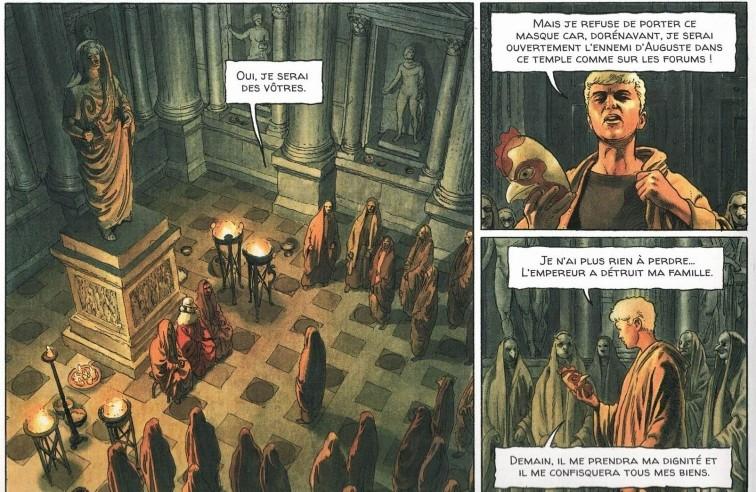 Alix Senator 6 : La Montagne des Morts - Page 4 Detrui10