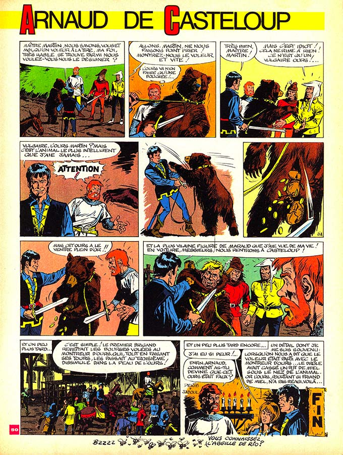 Derib et ses amis - Page 6 Arnaud14